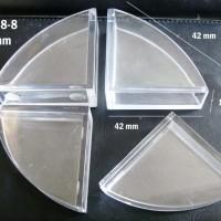 Jual  Safety Corner  Pelindung Sudut Meja Triangle FB 0488 10 mm T1310 Murah