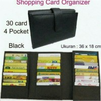 Jual Dompet Kartu, Shopping card organizer, dompet kartu 30 slot,atm Murah