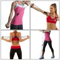 Exercise Elastic Band Fitness Equipment Yoga GYM (Tali Karet Elastis)
