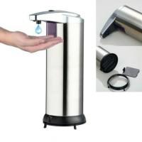 Jual Dispenser Sabun Otomatis Stainless / Magic Soap Dispenser Murah