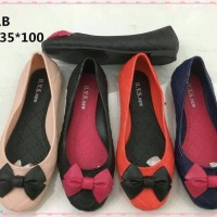 Jelly Shoes Premium Kids Bow New - Sepatu Anak Murah Karet Flatshoes