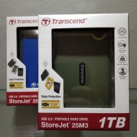 Jual Harddisk External Transcend 1TB Storejet Murah