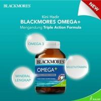 Jual blackmores omega +--60 kapsul--fish oil tidak berbau--BPOM kalbe Murah