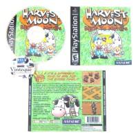 CD kaset PlayStation PS 1 Harvest Moon Back to Nature Bahasa Indonesia
