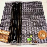 Sarung Tenun Sutera Raja Mulia 420 setara kamer tamer hamer bhs