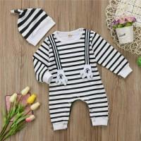 Jual Jumper suspender hands strip | baju anak bayi import murah Murah