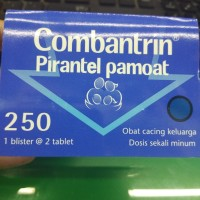 COMBANTRIN TABLET 250mg 1 STRIP ISI 2TAB