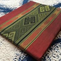 Jual kain tenun ikat songket baron polos tumpal toraja Murah