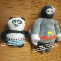 Jual boneka gantung kaca baymax / panda Murah