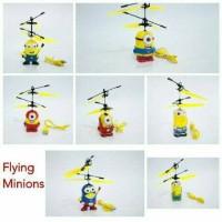 Game Flying Minion Boneka Terbang Sensor Tangan Flying Doll Mainan