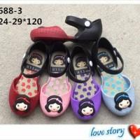 Jual Jelly Shoes Premium Kids Little Girl New - Sepatu bayi Sepatu anak Murah