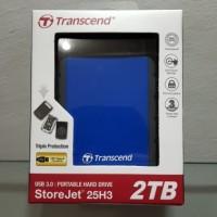 Jual Harddisk External Transcend 2TB Storejet Murah