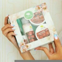 Jual Paket box Bali Ratih body mist butter lotion scrub Murah