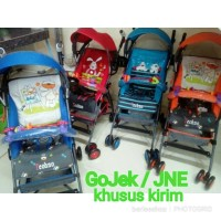 Jual JNE/ GoJek Stroller Pliko Techno Buggy / Kereta Dorong Bayi Merk Pliko Murah