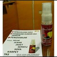 Jual Spray penghilang bau sepatu / pengharum sepatu jaket helm sofa Murah