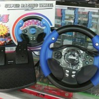 steering Playstation2 / Playstation3 / PC F4 x-shot Super Racing Wheel