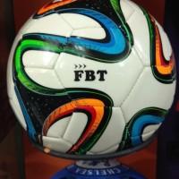 bola kaki fbt original motif brazuca / bola kaki no 4 / bola no4