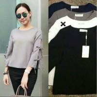 Harga fashion baju wanita blouse atasan bahan | WIKIPRICE INDONESIA