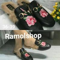 Jual Sandal Sepatu Gucci frla flw / sandal sepatu wanita import/fashion Murah