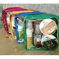 Jual Paket pouch mika Bali Ratih body mist butter lotion scrub Murah