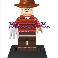 Lego KW bootleg freddy krueger nightmare on elm street