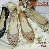 Jual Sepatu Wanita Remaja Bandung Flat Shoes Jelly Mate Murah 2017 Terbaru Murah