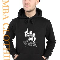 Hoodie Agent Venom - Hitam - ZEMBA CLOTHING