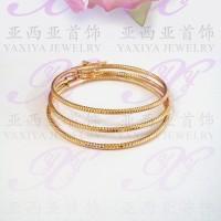 Jual Yaxiya gelang anak set 3 perhiasan imitasi lapis emas aksesoris 471 Murah