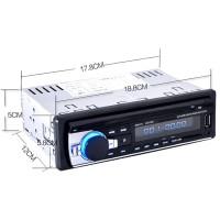 Jual  Tape Audio Mobil Multifungsi Bluetooth USB MP3 FM Radio JSD 520 T1910 Murah