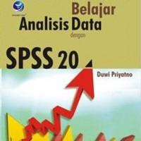 Cara Kilat Belajar Analisis Data Dengan SPSS 20-Duwi Priyatno