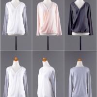 Jual S3630 Atasan Import casual Cotton Chiffon Blac KODE YT3630 Murah