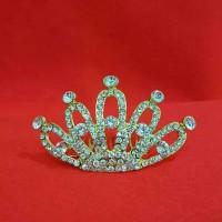 Jual (Sale) Mahkota sirkam hiasan rambut aksesoris pesta pengantin SC18 Murah