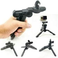 Jual Mini Tripod Camera 3 In 1 For Go Pro Hero SJCAM SJ4000 Diskon Murah