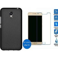 Case Lenovo P2 Lenovo P2 Turbo Paket Case & Tempered Glass Lenovo P2