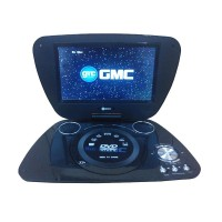 GMC DVD Player Portable with Radio LCD TV 9 Inch