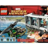 LEGO SUPER HEROES IRON MAN: MALIBU MANSION ATTACK 76007