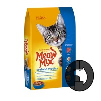 meow mix 1.42 kg cat seafood medley