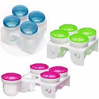 Jual Munchkin Fresh Food Freezer Cup Baby Cubes Wadah kaldu puree mpasi Murah