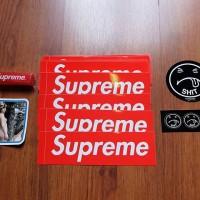 Supreme New York Sticker Red Box Logo 100% Authentic