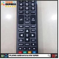 Jual REMOT/REMOTE TV LG LCD/LED/PLASMA AKB73975733 KW SUPER Murah