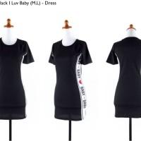 Jual S725 Dress hitam bodycon katun import murahci KODE YT725 Murah