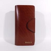 DOMPET KULIT PANJANG PRIA WANITA IMPORT BRANDED BALLY 807 BROWN