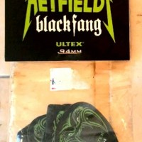 Jim Dunlop Pick Black Fang James Hetfield Metallica 0.94 Rare Packs !