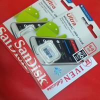 Jual memori card memory memorycard 64 gb micro sd sandisk class 10 64gb Murah