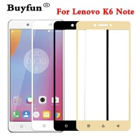 TEMPERED GLASS WARNA LENOVO K6 NOTE FULL COVER