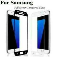 TEMPERED GLASS WARNA SAMSUNG GALAXY J7 CORE FULL COVER