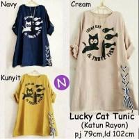 Jual DAPATKAN MODEL TERBARU 56154 lucky cat tunic Murah