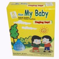 Jual Abon Baby Gold Daging Sapi/Abon Bayi/Abon Sapi/MPASi/Abon Daging Sapi  Murah