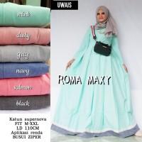 Baju Gamis ROMA MAXY by Uwais Long Dress Syari