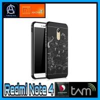 Case Casing Cover SoftCocose Dragon Xiaomi Redmi Note 4 Snapdragon